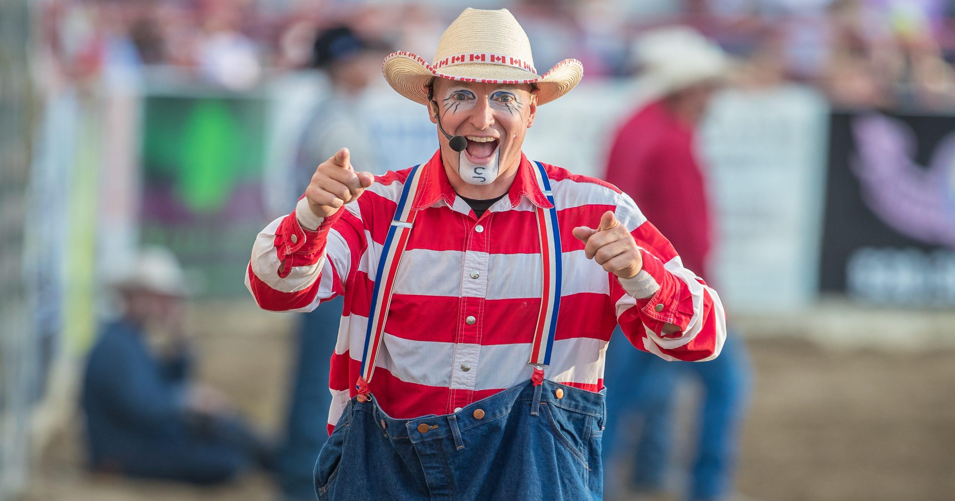 78d0b7a1038 A peek inside the life of Redding s rodeo clown