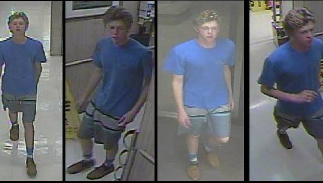 Security cameras captured photos of this man who has been accused of shoplifting from the Winn Dixie on Sorrento Road.