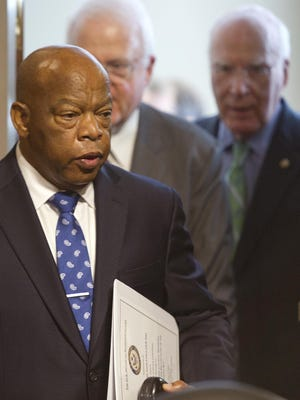 U.S. Rep. John Lewis will make his third visit to Appleton on Sunday as the commencement speaker at Lawrence University. Lewis was a key player in the civil rights protests that led to the Voting Rights Act of 1965.