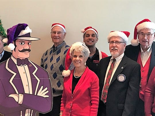 SANTA RUN - The Rotary Santa Run committee is working