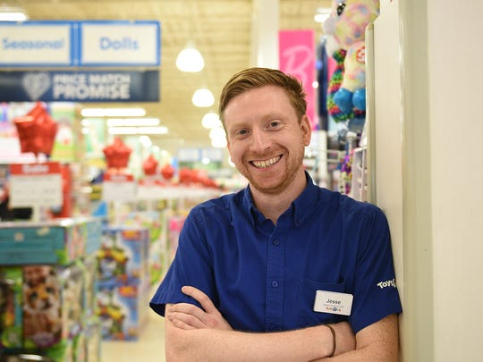 Jesse Lyons, manager of the Toys R Us in Totowa, and other store managers, will be leading the campaign to win over holiday shoppers this year and to keep them coming back next year.