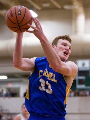 John Michael Mulloy, of Carmel High School, Carmel at Zionsville boys basketball, Zionsville, Tuesday, Nov. 21, 2017. Zionsville won 68-62.