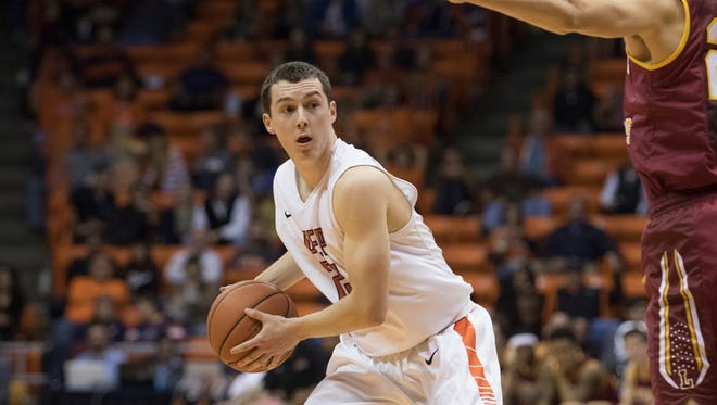 UTEP guard Trey Touchet received the Conference USA Academic Medal, an award that requires a 3.75 or better GPA.