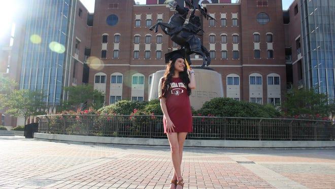 Victoria Weler, Deputy Arts & Culture Editor, graduates from FSU.