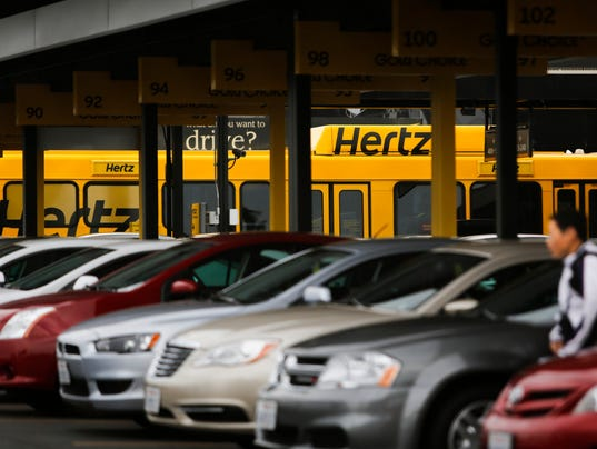 Hertz Rent A Car At The Cleveland Airport