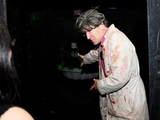 Enter the Terror of Tallahassee spook house this weekend