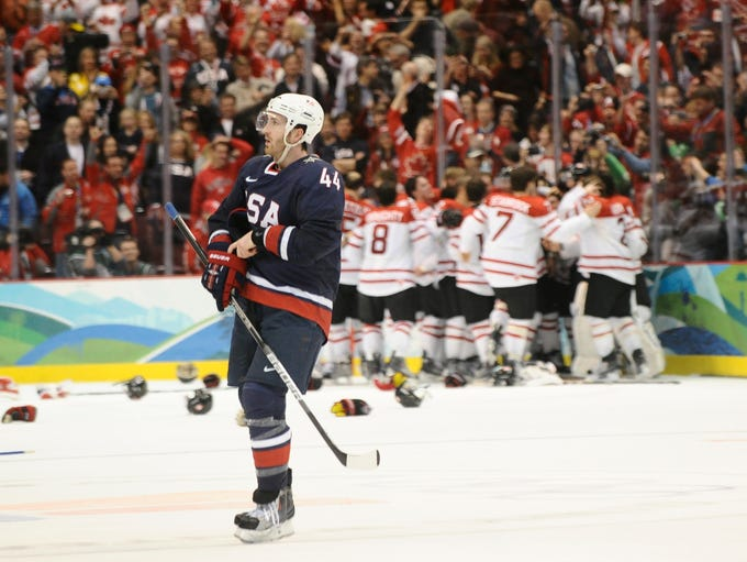 Team USA earned a silver medal in the 2010 Olympics, but it seeks redemption in 2014 after losing to Canada in the gold medal game, 3-2 in overtime.
