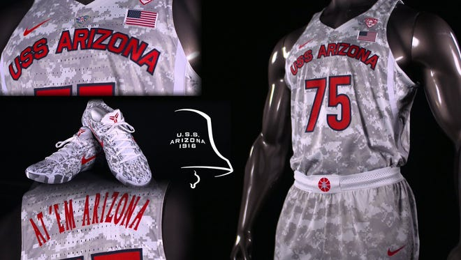 The Wildcats will wear these uniforms in their season opener.
