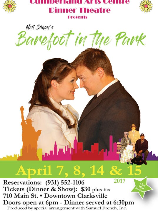 "Neil Simon's ""Barefoot in the Park"""