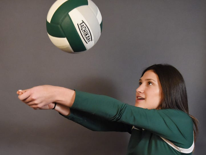 Anilee Sher of Spackenkill High School is the volleyball