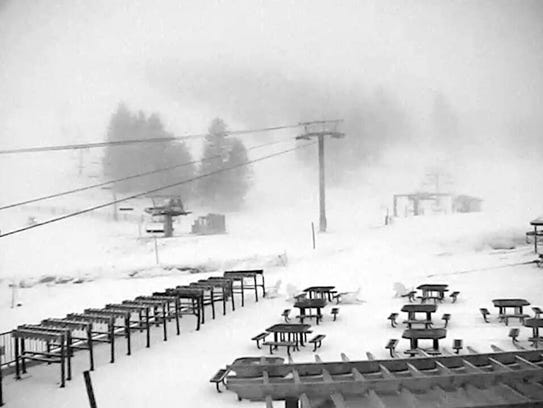 The storm left its welcomed mark at Ski Apache.