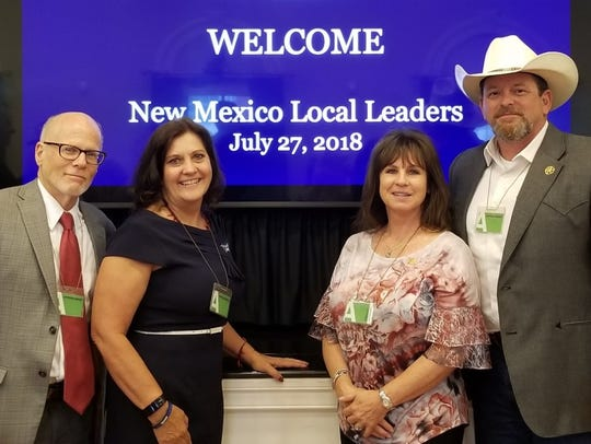 The New Mexico Counties visited the White House on