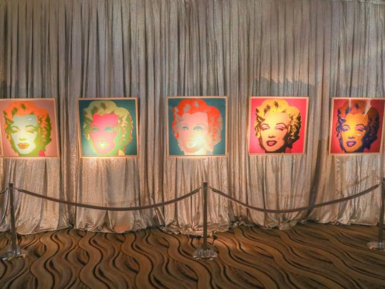 "Andy Warhol ""Marilyn"" prints from the collection of"