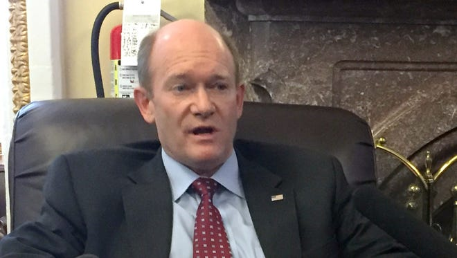 U.S. Sen. Chris Coons, D-Delaware, praised the work of the Violence Reduction Network on Wednesday.