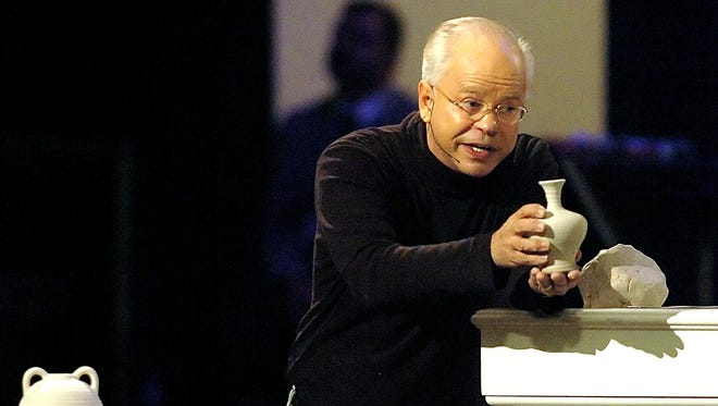 Televangelist Jim Bakker delivers a sermon on Dec. 30, 2005. Bakker and his church, Morningside Productions Inc., paid the state $156,000 in restitution after advertising and selling a false COVID-19 cure on the Jim Bakker Show last year.