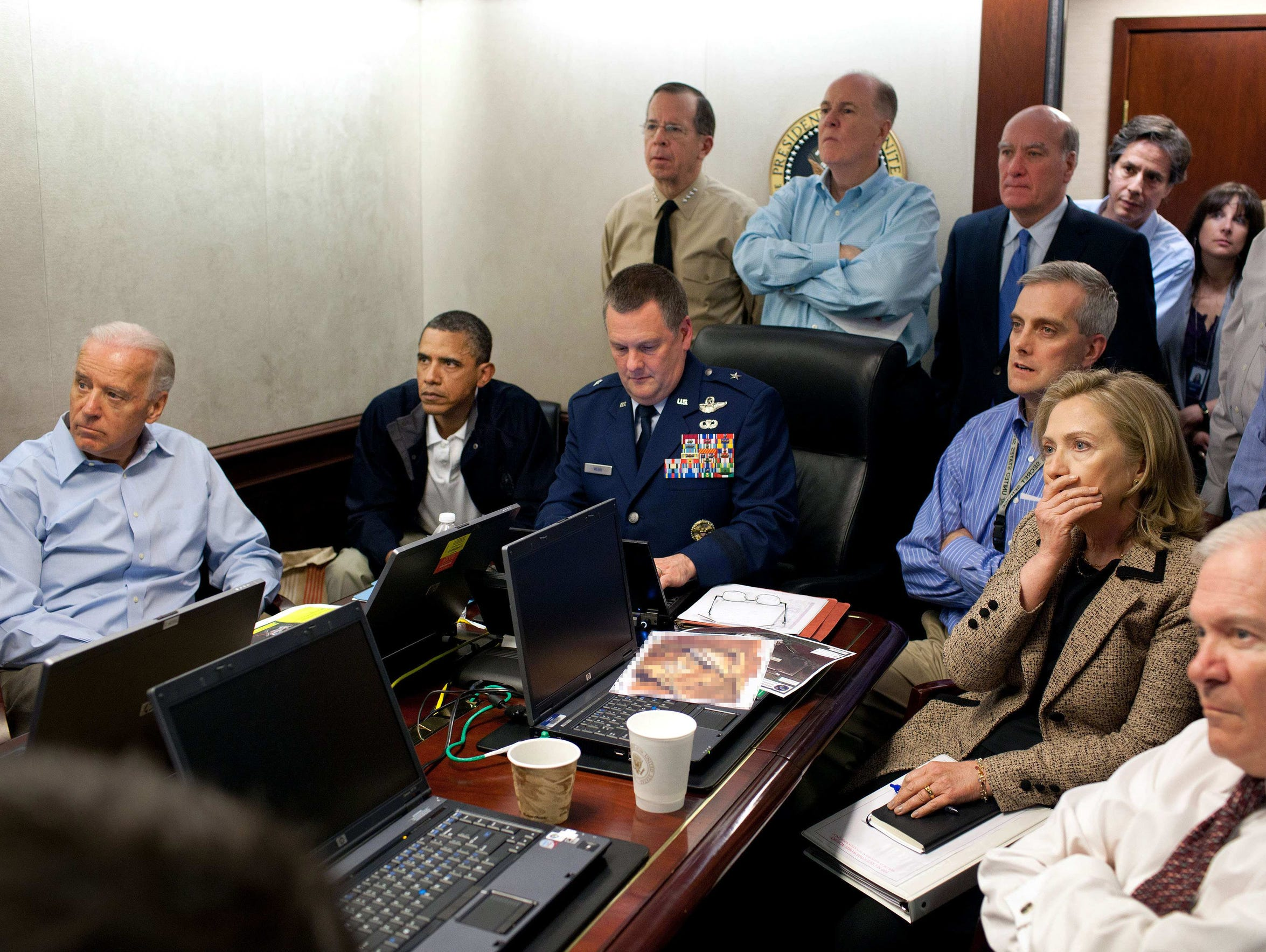 In this May 1, 2011, image released by the White House