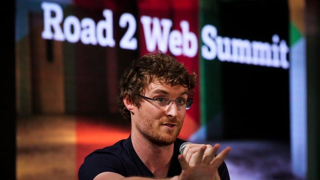 Web Summit founder Paddy Cosgrave.