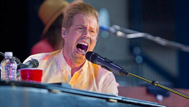 """Andrew McMahon in the Wilderness' new album """"Zombies on Broadway"""" is out Friday."""