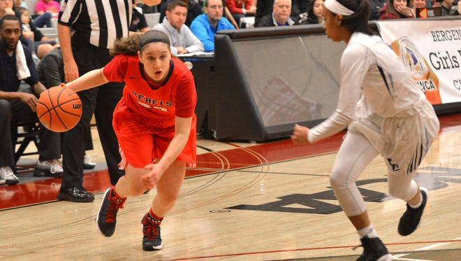 Saddle River Day sophomore guard Michelle Sidor and the Rebels take the top spot in this week's rankings.