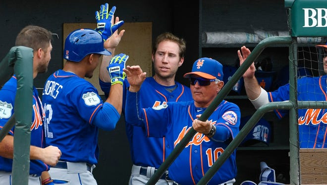 The Mets host the Braves on April 3 at Citi Field