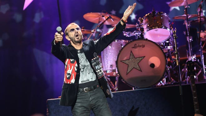 Ringo Starr and His All-Starr Band return to Milwaukee Sept. 8 for a show at the BMO Harris Pavilion. Tickets go on sale at 10 a.m. Friday.