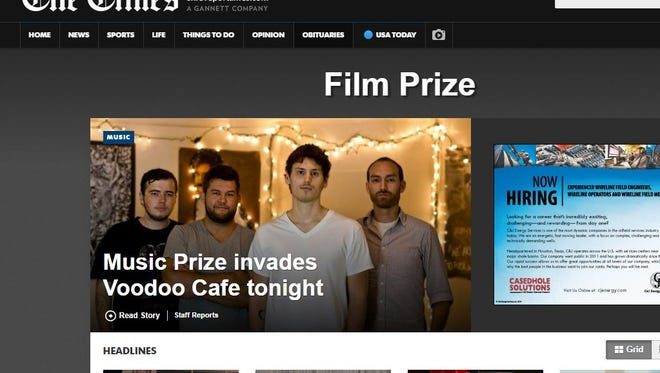 Everything you could ever want to know about the Louisiana Film Prize can be found at shreveporttimes.com..