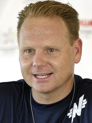 High wire performer Nik Wallenda is shown in a 2013 file photo.
