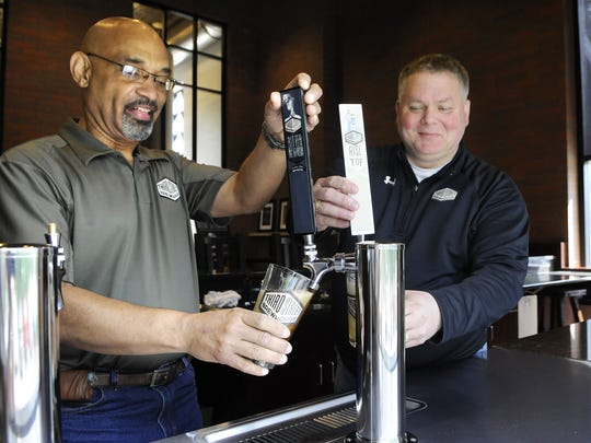 No longer with Third Street Brewhouse is Horace Cunningham, director of brewing (left) and Doug DeGeest, vice president and general manager.