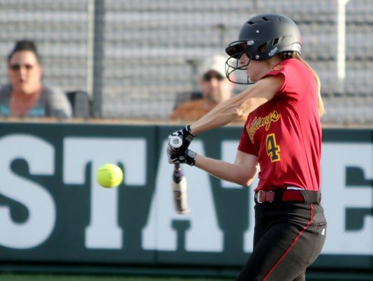 Cameron downs MSU softball