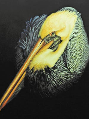Renown wildlife and sporting artist James Offeman of Missouri City is one of three Texas artists with works in Birds in Art, an exhibit that was scheduled to be in Rockport but was rerouted by Harvey to Corpus Christi. The show will run at the Art Museum of South Texas through Nov. 19.