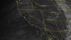 NOAA satellite image taken Wednesday, Oct. 22.