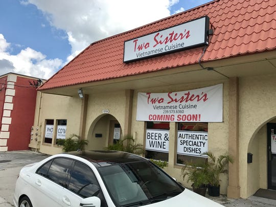 Two Sisters plans to open Saturday in the former Time to Eat space in Cape Coral.