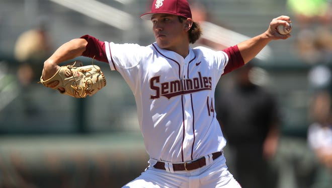FSU's Tyler Holton will have a larger offensive role in 2018 at first base and as a designated hitter, supplementing his superb pitching.
