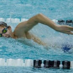 South Lyon Unified's Christian Etnyre was second in the 200-yard freestyle and first in the 500 freestyle.