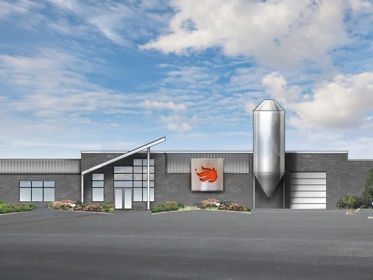Rendering of the Karrikin Spirits Co. expected to open this fall in Fairfax.