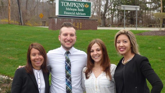 From left, Lisa Rivera, James McKenna, Kimberly Spinning and Priscilla Goodall.