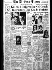 Front page of the El Paso Times that ran on Feb. 27, 1966.