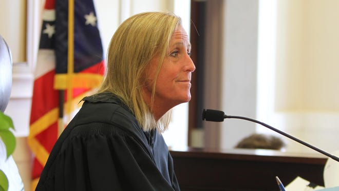 Hamilton County Common Pleas Judge Jody Luebbers is presiding over the Troja vs. Pleatman civil suit. Witness Crysta Pleatman failed to appear, telling her attorney she feared Luebbers would put her in jail.