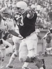 Pete Curkendall was a third-team All-American at Penn State as a senior in 1987 and helped the Nittany Lions win a national championship.