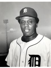 John Young, who played for the Detroit Tigers briefly
