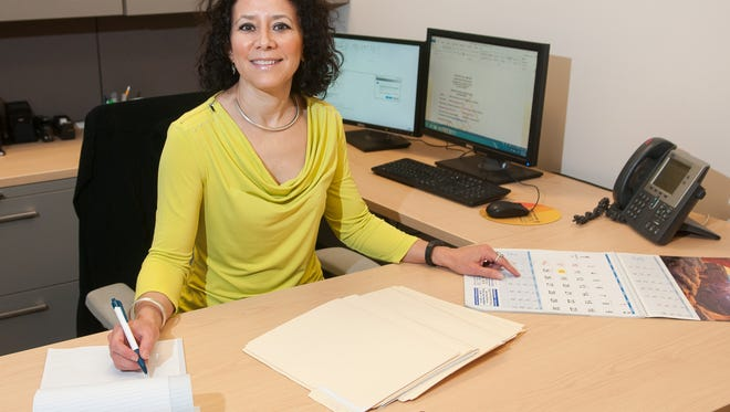 City of Las Cruces Economic Development Coordinator Mayra De La Canal, has settled into her new offices and is starting to plan for the city's economic growth.
