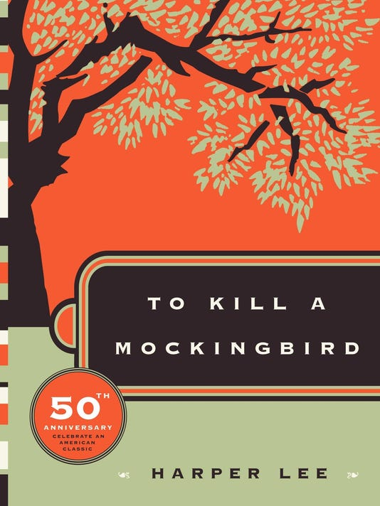 XXX _LEE KILL MOCKINGBIRD 50TH COVER BOOKS 3681 .JPG A ENT