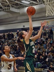 Howell's Leah Weslock scored two of her team-high 11
