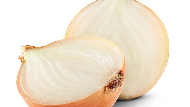 A father and son fought over an onion on Sunday in Michigan, according to police.