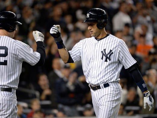 Derek Jeter S Unbelievable Closing Act At Yankee Stadium