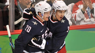 Team USA men's Olympic hockey roster