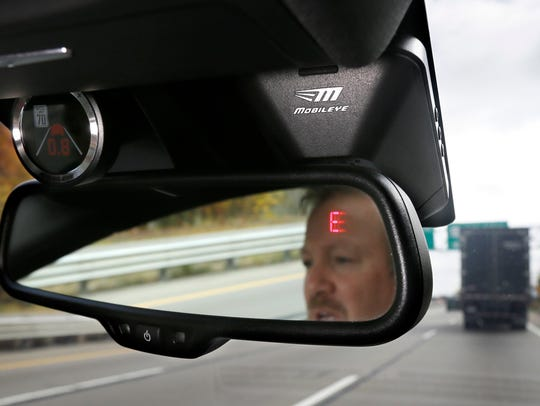 A Mobileye camera system can be installed in your car