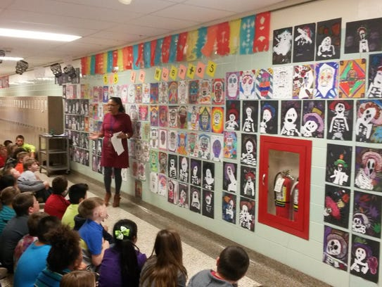 Students at Wilson Elementary School recently learned