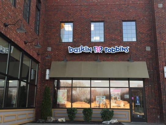 Baskin-Robbins opened in July at Sellars Park on North