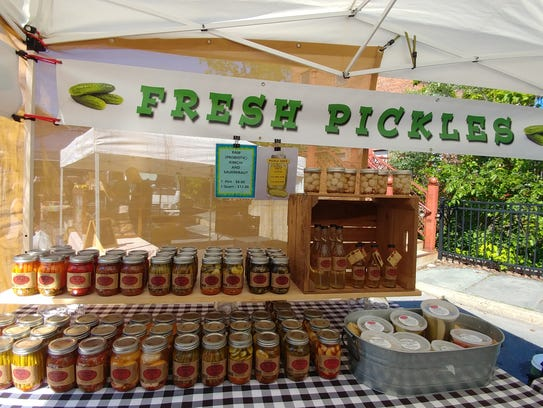 Perry's Pickles in Rosendale is run by husband and